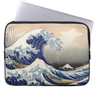 Great Wave off Kanagawa Laptop Sleeves