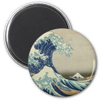 Great Wave off Kanagawa Magnets