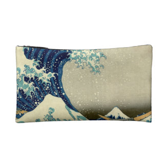 Great Wave Off Kanagawa Makeup Bag