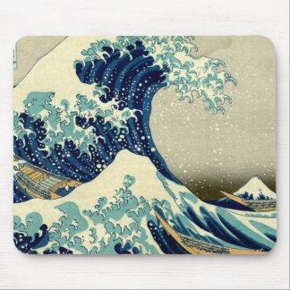 Great Wave Off Kanagawa Mousepads