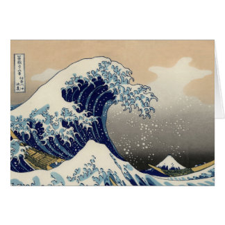 Great Wave off Kanagawa Oriental Fine Art Card