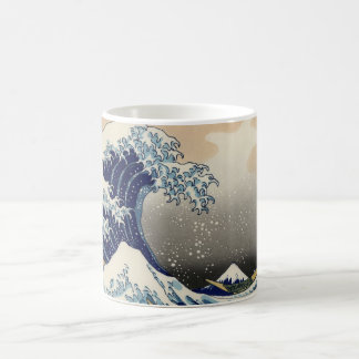 Great Wave off Kanagawa Oriental Fine Art Coffee Mug