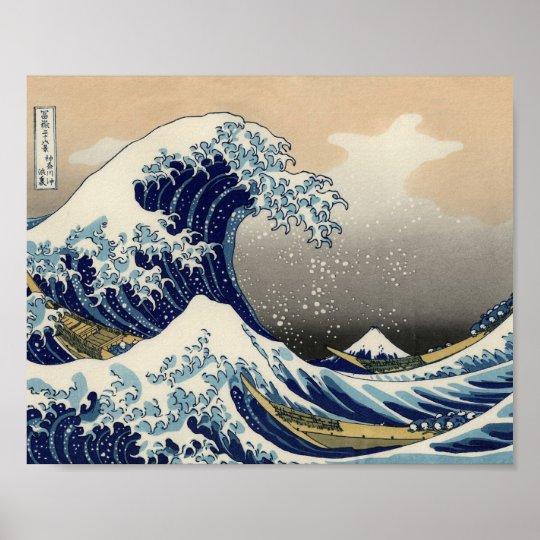 Great Wave off Kanagawa Oriental Fine Art Poster