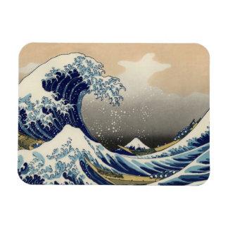Great Wave off Kanagawa Oriental Fine Art Vinyl Magnets