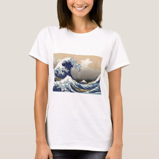 Great Wave off Kanagawa Oriental Fine Art T-Shirt