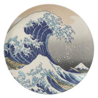 Great Wave off Kanagawa Plate