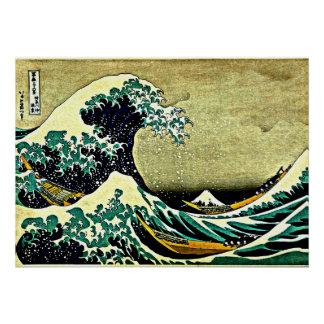 Great Wave off Kanagawa Poster