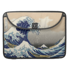Great Wave Off Kanagawa Sleeve For Macbook Pro at Zazzle