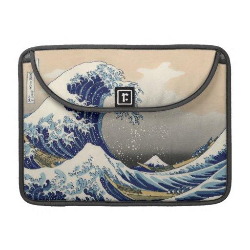 Great Wave Off Kanagawa Sleeve For MacBooks
