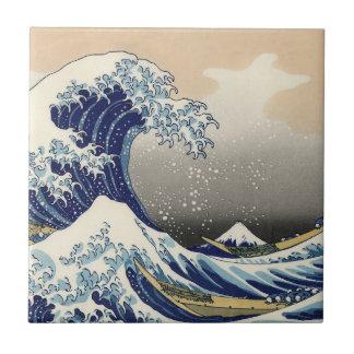 Great Wave off Kanagawa Ceramic Tile