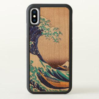 Great Wave Off Kanagawa Vintage Japanese Art iPhone X Case