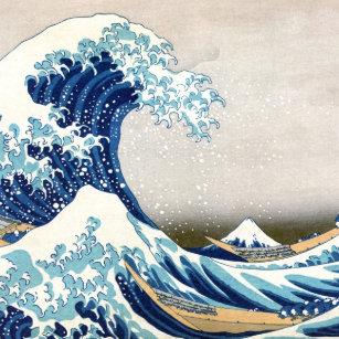 Passport Cover /& Luggage Tag Japan Impression Illustration Kanagawa Wave