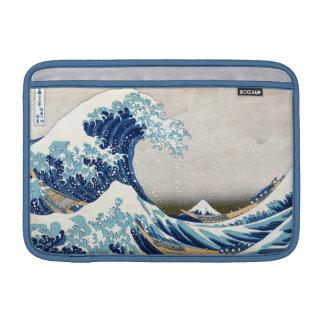 Great Wave Off Kanagawa Vintage Japanese Fine MacBook Air Sleeve