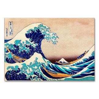 Great Wave Off Kanagawa Vintage Japanese Print Art Card