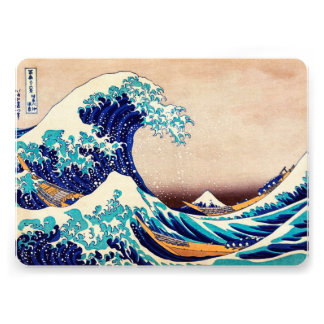 Great Wave Off Kanagawa Vintage Japanese Print Art Announcements