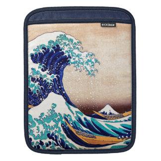 Great Wave Off Kanagawa Vintage Japanese Print Art iPad Sleeve