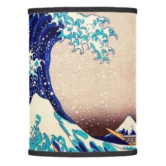 Great Wave Off Kanagawa Vintage Japanese Print Art Lamp Shade