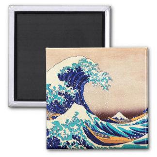 Great Wave Off Kanagawa Vintage Japanese Print Art Magnet