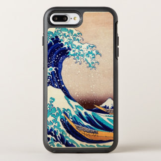 Great Wave Off Kanagawa Vintage Japanese Print Art OtterBox Symmetry iPhone 8 Plus/7 Plus Case