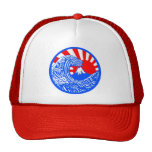 Great Wave & Rising Sun Hat