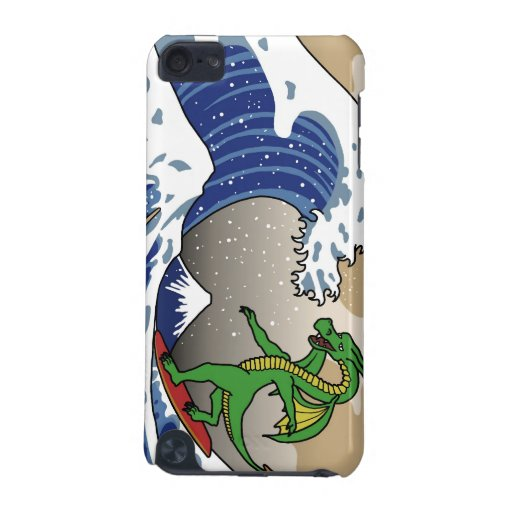 Great Wave with Dragon iPod Touch (5th Generation) Covers
