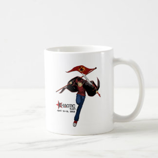 Great way to start the Khaotic Day Mug! Classic White Coffee Mug