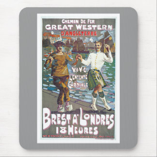 Great Western Railway, Brut a Londres Travel Mouse Pad