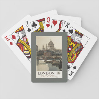 Great Western Railway St. Paul's Travel Poster Playing Cards