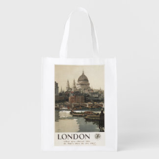 Great Western Railway St. Paul's Travel Poster Market Tote