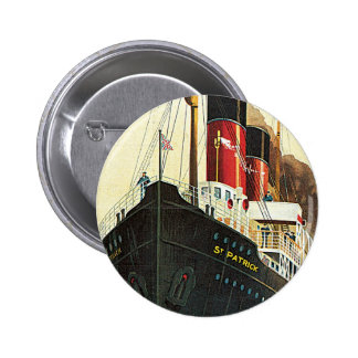 Great Western Railway - To Ireland Pinback Buttons