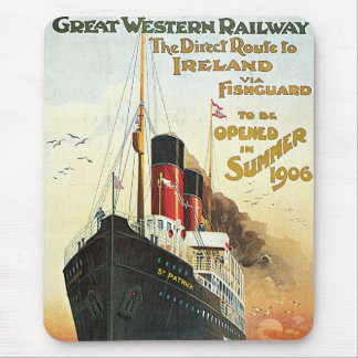 Great Western Railway - To Ireland Mouse Pad