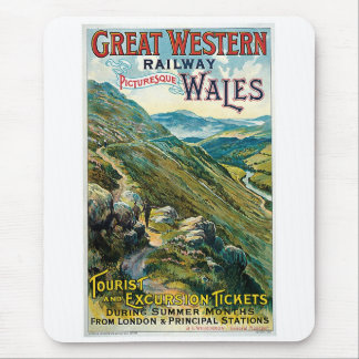 Great Western Railway ~ Wales Mouse Pad