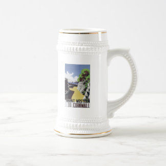 Great Western to Cornwall Beer Stein