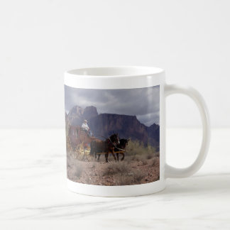 Great Western Trail Stagecoach Coffee Mug