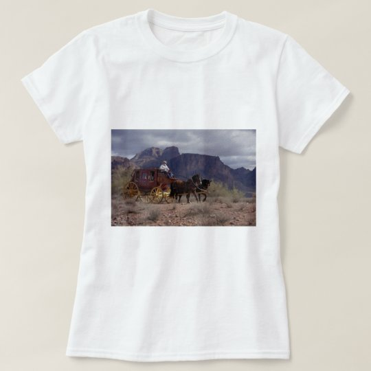 Great Western Trail Stagecoach T-Shirt