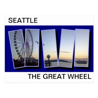 GREAT WHEEL SEATTLE POST CARD