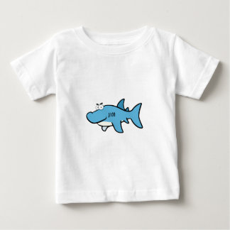 GREAT WHITE BLUE SHARK CARTOON SNEAKY FUNNY SURF S BABY T-Shirt