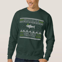 Great White Christmas Ugly Sweater