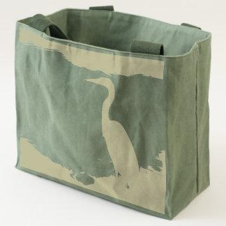 Great White Egret shopping companion Tote