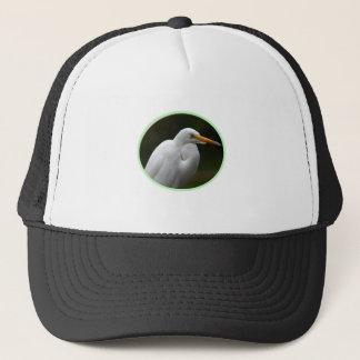 Great White Egret Trucker Hat