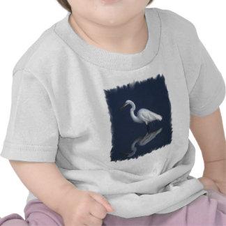 Great White Heron Baby T-Shirt