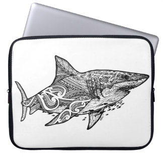 GREAT WHITE LAPTOP SLEEVE