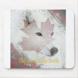 great white north mouse pad