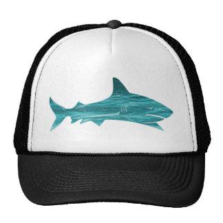 Great White Ocean Design Trucker Hat