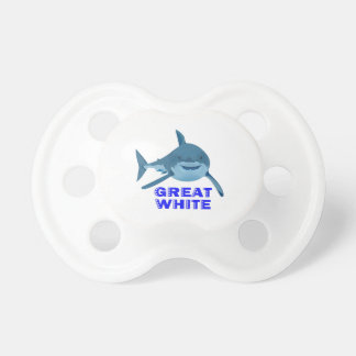 GREAT WHITE BooginHead PACIFIER
