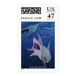 Great white postage