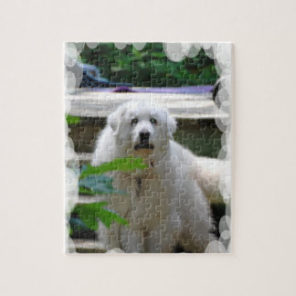 Great White Pyrenees Dog Puzzle