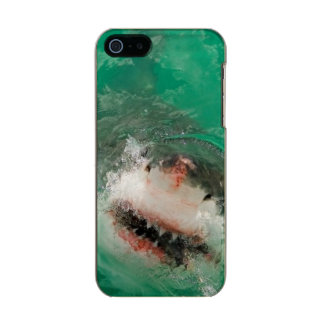 Great White Shark1 Metallic Phone Case For iPhone SE/5/5s