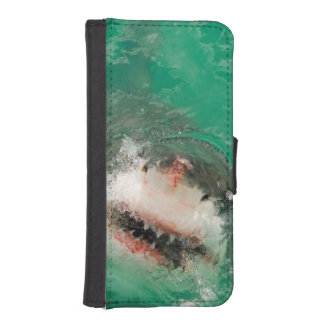 Great White Shark1 Wallet Phone Case For iPhone SE/5/5s