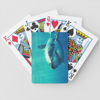 GREAT WHITE SHARK 1 BICYCLE PLAYING CARDS